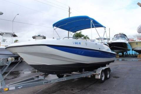 2007 Bayliner 217 Sundeck  Call(561)573-4196 for sale at 1000 Cars Plus Boats - LOT 5 in Miami FL