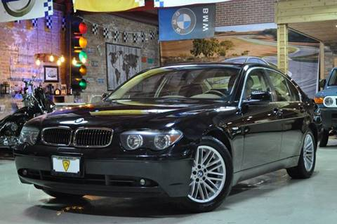2004 BMW 7 Series for sale at Chicago Cars US in Summit IL