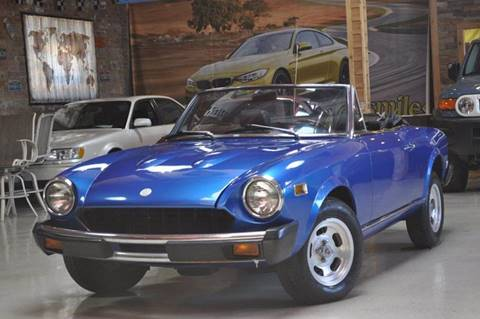 1976 FIAT 124 Spider for sale at Chicago Cars US in Summit IL