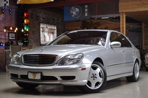 2002 Mercedes-Benz S-Class for sale at Chicago Cars US in Summit IL