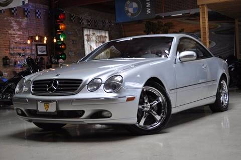 2002 Mercedes-Benz CL-Class for sale at Chicago Cars US in Summit IL