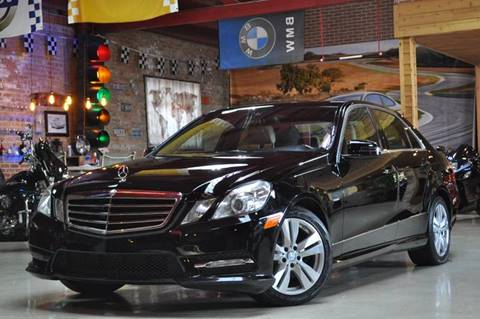 2012 Mercedes-Benz E-Class for sale at Chicago Cars US in Summit IL