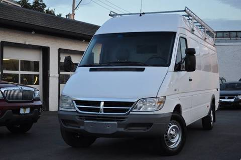 2004 Dodge Sprinter Cargo for sale at Chicago Cars US in Summit IL