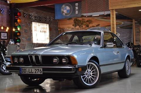 1984 BMW 6 Series for sale at Chicago Cars US in Summit IL