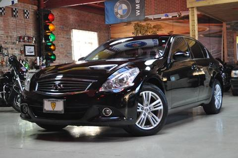 2012 Infiniti G25 Sedan for sale at Chicago Cars US in Summit IL