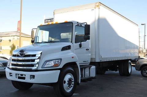 2017 Hino 268 for sale at Chicago Cars US in Summit IL