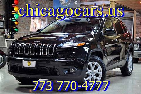 2015 Jeep Cherokee for sale at Chicago Cars US in Summit IL