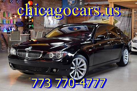 2007 BMW 7 Series for sale at Chicago Cars US in Summit IL