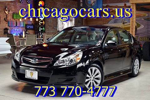 2010 Subaru Legacy for sale at Chicago Cars US in Summit IL