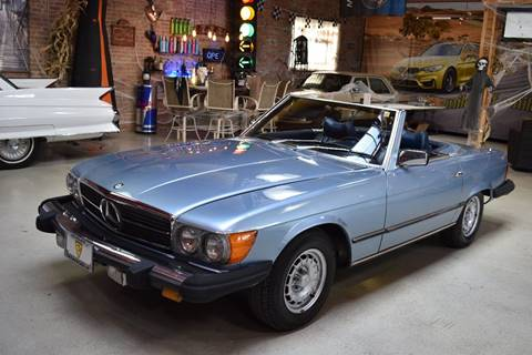 1977 Mercedes-Benz 450 SL for sale at Chicago Cars US in Summit IL
