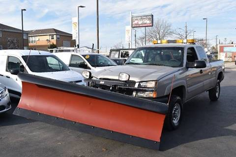 2004 Chevrolet Silverado 2500HD for sale at Chicago Cars US in Summit IL