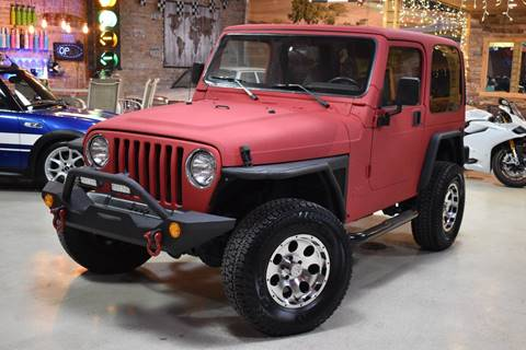 1998 Jeep Wrangler for sale at Chicago Cars US in Summit IL