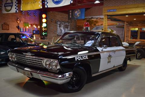 1962 Chevrolet Impala Limited Police for sale at Chicago Cars US in Summit IL