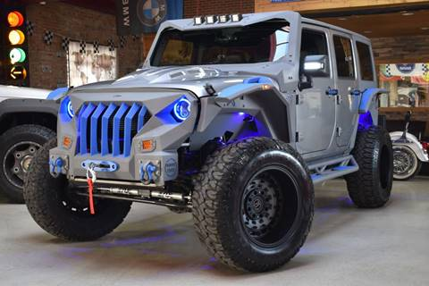 2018 Jeep Wrangler Unlimited for sale at Chicago Cars US in Summit IL
