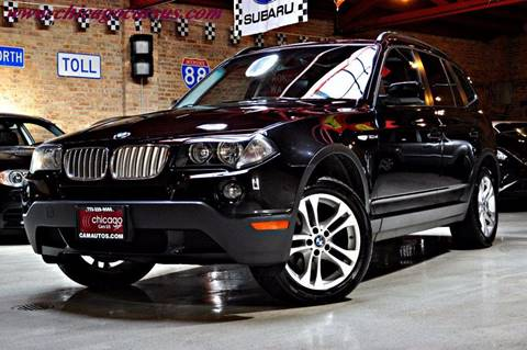 2007 BMW X3 for sale at Chicago Cars US in Summit IL