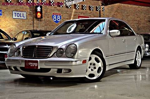 2002 Mercedes-Benz E-Class for sale at Chicago Cars US in Summit IL