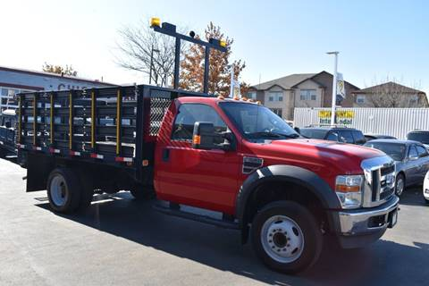 2010 Ford F-550 Super Duty for sale at Chicago Cars US in Summit IL