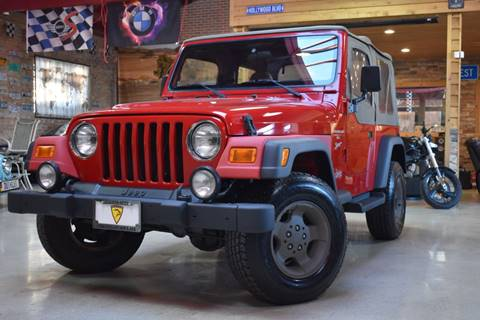 2001 Jeep Wrangler for sale in Summit, IL