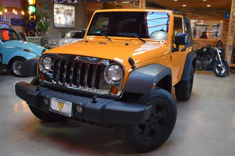 2012 Jeep Wrangler for sale at Chicago Cars US in Summit IL