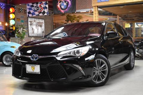 2015 Toyota Camry Hybrid for sale at Chicago Cars US in Summit IL