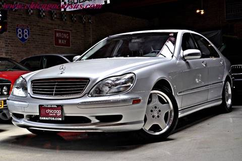 2001 Mercedes-Benz S-Class for sale at Chicago Cars US in Summit IL
