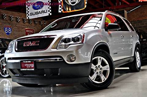 2008 GMC Acadia for sale at Chicago Cars US in Summit IL