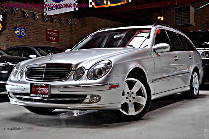 2004 Mercedes Benz E Class AWD E500 4MATIC 4dr Wagon   Summit IL