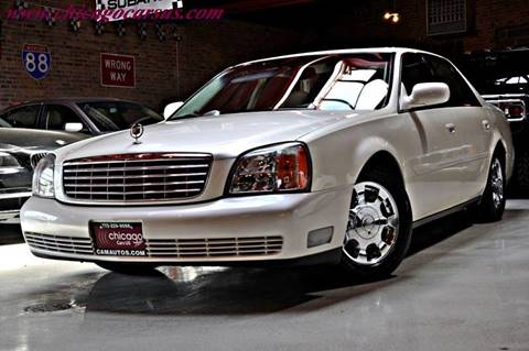 2002 Cadillac DeVille for sale at Chicago Cars US in Summit IL