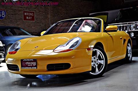 2002 Porsche Boxster for sale at Chicago Cars US in Summit IL