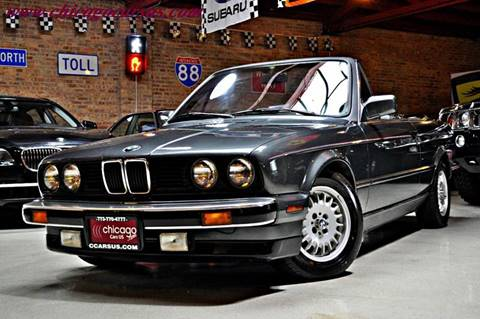 1987 BMW 3 Series for sale at Chicago Cars US in Summit IL