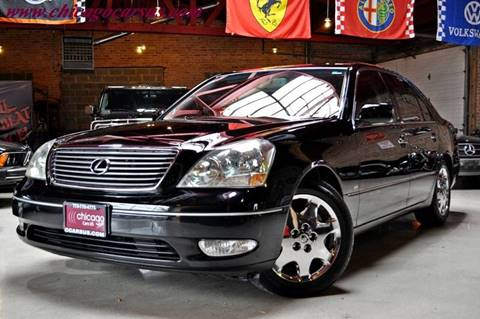 2001 Lexus LS 430 for sale at Chicago Cars US in Summit IL
