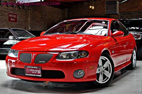 2004 Pontiac GTO for sale at Chicago Cars US in Summit IL