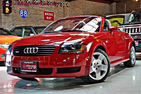 2001 Audi TT for sale at Chicago Cars US in Summit IL