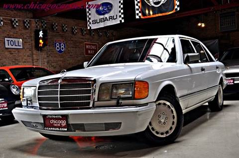 1990 Mercedes-Benz 300-Class for sale at Chicago Cars US in Summit IL