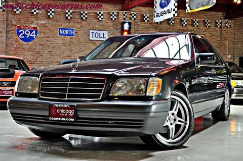1995 Mercedes-Benz S-Class for sale at Chicago Cars US in Summit IL