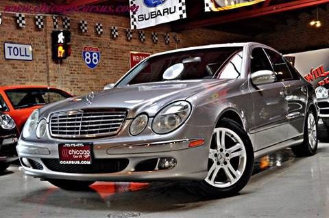 2005 Mercedes-Benz E-Class for sale at Chicago Cars US in Summit IL