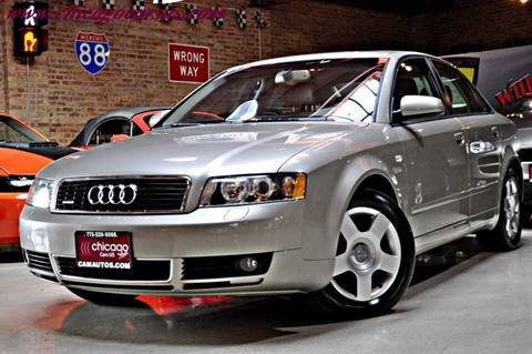 2004 Audi A4 for sale at Chicago Cars US in Summit IL