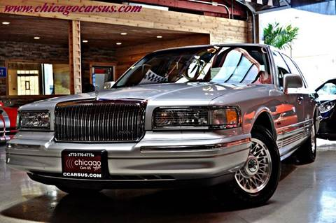 1997 Lincoln Town Car for sale at Chicago Cars US in Summit IL