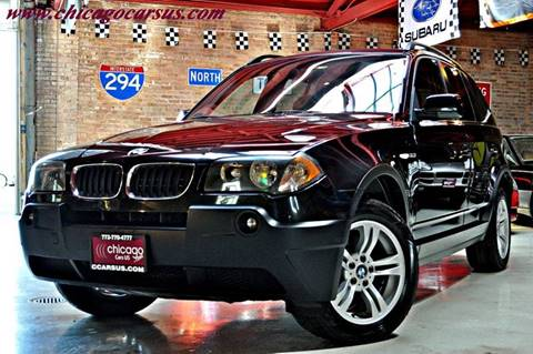 2005 BMW X3 for sale at Chicago Cars US in Summit IL
