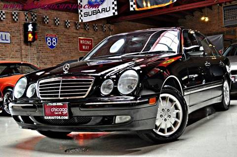 2000 Mercedes-Benz E-Class for sale at Chicago Cars US in Summit IL