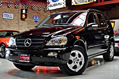 2002 Mercedes-Benz M-Class for sale at Chicago Cars US in Summit IL
