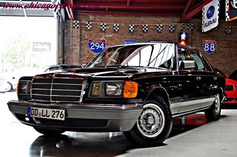 1982 Mercedes-Benz 380-Class for sale at Chicago Cars US in Summit IL
