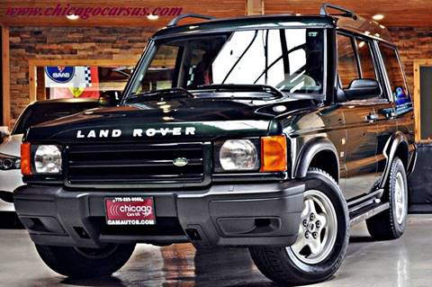 2001 Land Rover Discovery Series II for sale at Chicago Cars US in Summit IL
