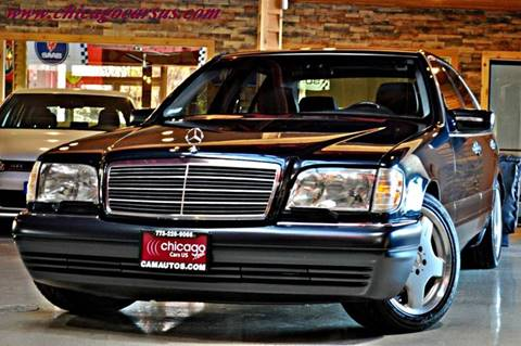 1998 Mercedes-Benz S-Class for sale at Chicago Cars US in Summit IL