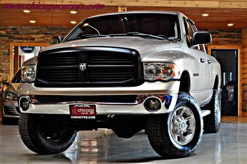2004 Dodge Ram Pickup 2500 for sale at Chicago Cars US in Summit IL