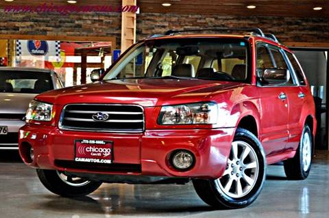 2005 Subaru Forester for sale at Chicago Cars US in Summit IL