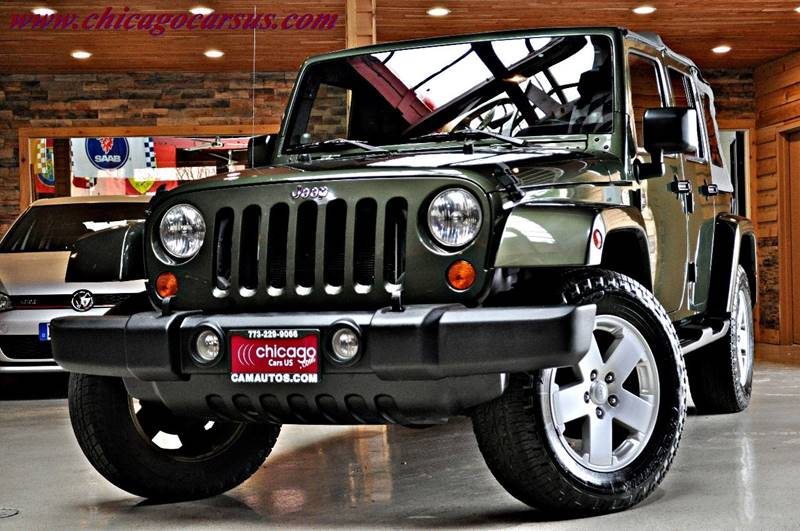 2007 Jeep Wrangler Unlimited for sale at Chicago Cars US in Summit IL