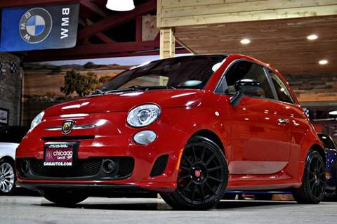 2013 FIAT 500 for sale at Chicago Cars US in Summit IL