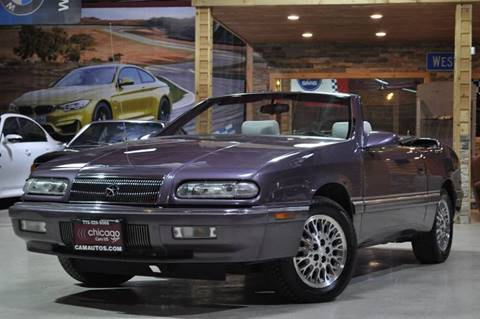 1995 Chrysler Le Baron for sale at Chicago Cars US in Summit IL