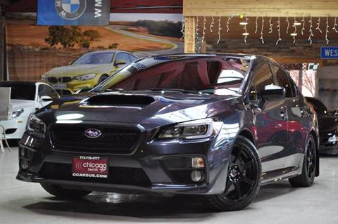 2016 Subaru WRX for sale at Chicago Cars US in Summit IL